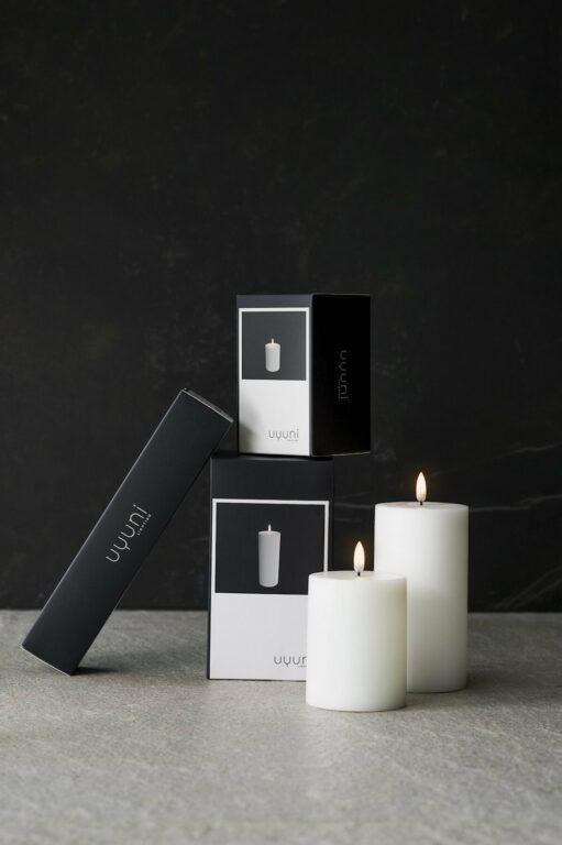 UYUNI led kynttilä 8×10