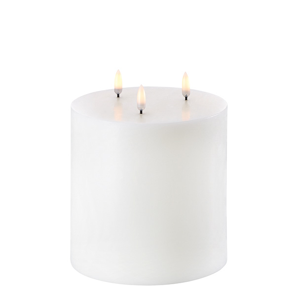 UYUNI led kolmisydän kynttilä 15cmx15cm