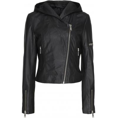 Notyz hupullinen biker takki