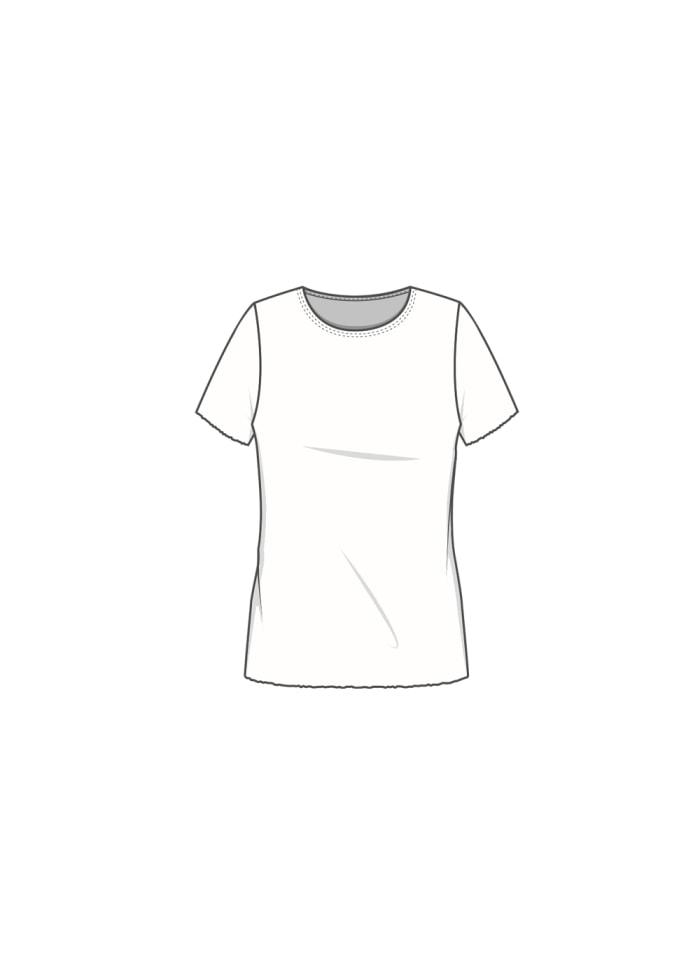 Blusbar T-paita pyöreällä kaula-aukolla